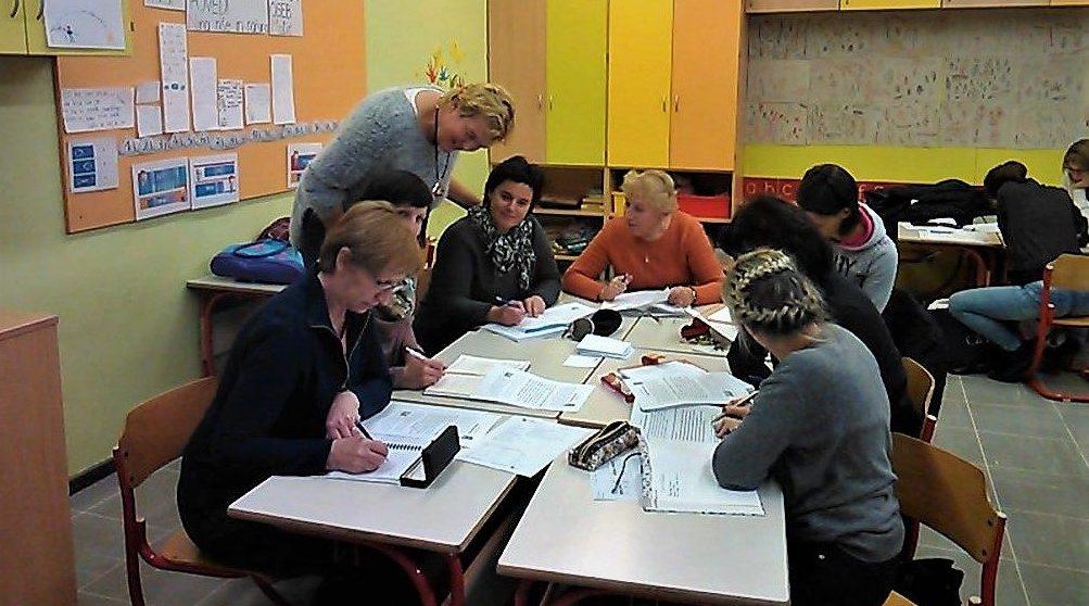 """Sklop treh predavanja """"Diferenciacija pri pouku"""" za strokovne delavce 1. triade OŠ Franceta Bevka Tolmin"""