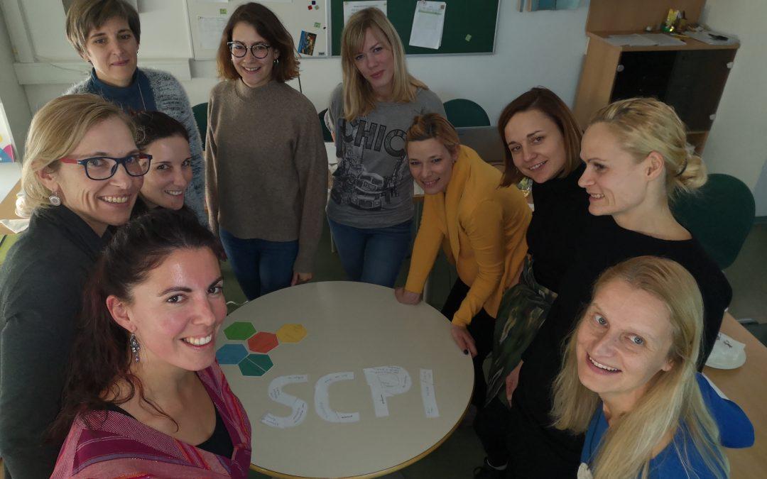 Tematsko srečanje zaposlenih v projektu SCPI